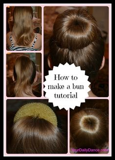 For most parents of dancers, there comes a point in your daughter's dance life that you will make a bun.  It may be by choice for recital, a requirement for class or a performance or she may just l...