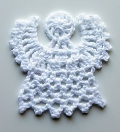 An angel motif. Can be starched to use in a card or as gift tag. Could sew it on to embellish any item. I have used these to give instead of Christmas cards.