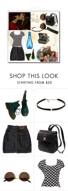 """""""1990s"""" by lily-basiuk ❤ liked on Polyvore featuring Dr. Martens, Carbon & Hyde, Kate Spade, Cartier, Polaroid, Moschino, Christian Lacroix and Davidoff"""