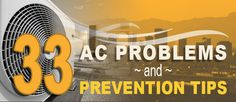 33 AC Problems Phoenix Homeowners Face & Prevention Tips - http://hayscoolingandheating.com/ac-problems-phoenix/