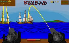 War At Sea is an arcade action sea game, where you defend yourself from waves of attacking pirate ships.