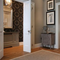 Victorian Terraced Townhouse in Primrose Hill, North West London traditional-hallway-and-landing Victorian Terrace House, Radiator Cover, West London, Radiators, Home Living Room, Townhouse, Tall Cabinet Storage, Your Style, Lounge