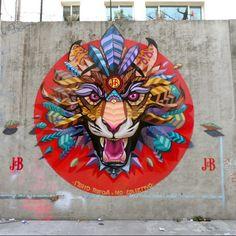 "Street art | Mural ""Scream"" (Mexico) by Farid Rueda"