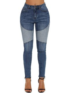Rambling 2018 New Women Hight Waisted Loose Bow Bandage Hole Denim Jeans Stretch Pants Jean