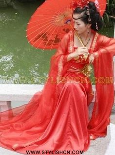 Memoirs of a Geisha Geisha, Ethnic Fashion, Asian Fashion, Afrique Art, Chinese Clothing, Chinese Culture, Traditional Dresses, Traditional Chinese, Lady In Red