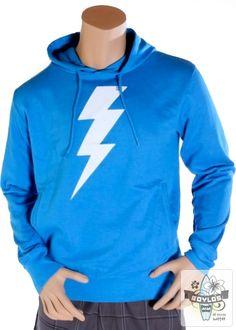 Mens Rapanui Lightning surf hoody in blue  http://www.boylos.co.uk/products/view/rapanui-lightning-hoody