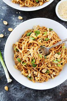 Sesame Noodles Recipe | Two Peas & Their Pod