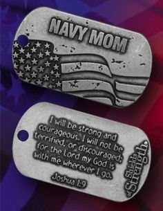 Navy mom....i dont think this could have been more perfect for my mom when josh was in the navy
