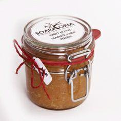 Sladučký med medový prírodný telový peeling na odumretú kožu od Soaphoria, slovenská prírodná a bio kozmetika