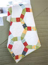 Chain Reaction Quilt Kit from ShopFonsandPorter.com