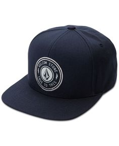 Featuring a classic six-panel design and an adjustable snapback closure, this Cresticle hat from Volcom is a comfortable and stylish choice for any casual occasion. | Cotton | Spot clean | Imported |