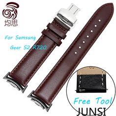 $17.90 (Buy here: https://alitems.com/g/1e8d114494ebda23ff8b16525dc3e8/?i=5&ulp=https%3A%2F%2Fwww.aliexpress.com%2Fitem%2FNew-Samsung-Genuine-Leather-Watchband-For-Samsung-Gear-S2-R720-Smart-Watch-Black-Bracelet%2F32688351046.html ) New Samsung Genuine Leather Watchband For Samsung Gear S2 R720 Smart Watch Black Bracelet for just $17.90