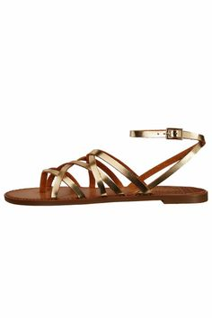 "Ankle strap with buckle closure. Open toe. Caged silhouette. Man-made lining and insole. Man-made sole. Imported.    Measurements: Heel Height: 1.5""; Weight: 5 oz   Gia Summer Sandal  by Chinese Laundry. Shoes - Sandals - Flat Louisiana"