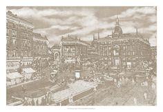 Impressions of Milan I Art Print