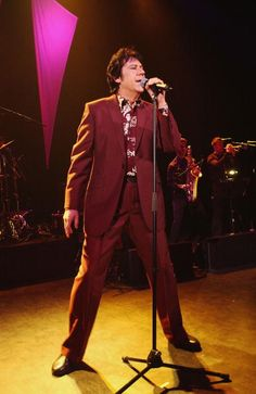 Welsh rockabilly singer Shakin' Stevens performs a oneoff live show in support…