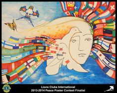 Finalist from China (Beijng Bo Ya Lions Club) - 2013-2014 Peace Poster Contest