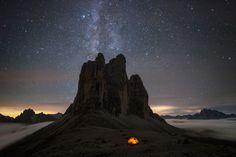 Roberto Bertero, fotografo piemontese amante della montagna, ha scalato buona parte delle vette alpine dando vita ad un progetto fotografico stupefacente.