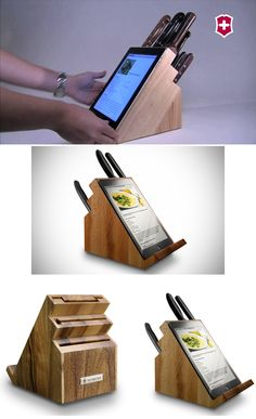 Victorinox iPad Holding Knife Block