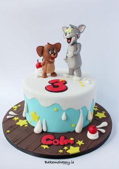 Tom and Gerry cake by Elaine Boyle....bakemehappy.ie