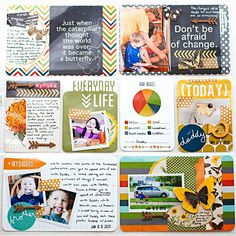 Scrap Happy Hippie: Project Life 2013 - Week 23 - right page