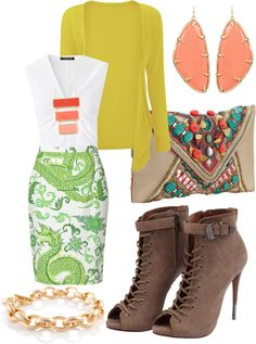 """Dragón skirt"" by veromar on Polyvore"