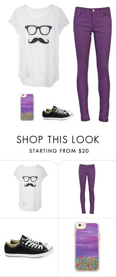 """""""Imagine Dragons"""" by heyitskayden ❤ liked on Polyvore featuring Joe's Jeans, Converse and Casetify"""
