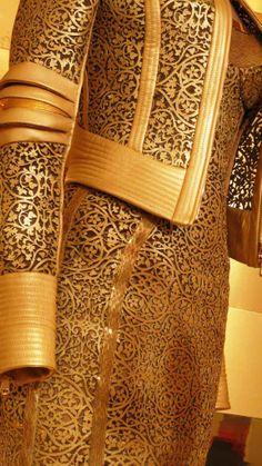 Versace....photo: Sonia Kolesnikov-Jessop...laser cut leather