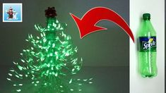 In this video I'll show you one more handcraft idea about how to reuse plastic bottles and make a wonderful Christmas tree. It can decorate your room or a ho. Recycled Christmas Tree, Plastic Christmas Tree, How To Make Christmas Tree, Christmas Origami, Christmas Paper Crafts, Christmas Crafts, Reuse Plastic Bottles, Plastic Bottle Crafts, Diy Weihnachten