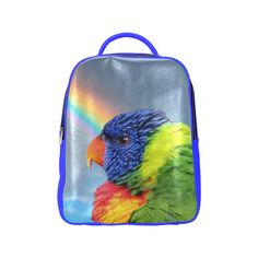 Rainbow Lorikeet Popular Backpack. FREE Shipping. FREE Returns. #lbackpacks #parrots