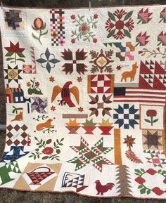 Humble Quilts: Ohio's Miami Valley Sampler Quilt- Made in Oregon
