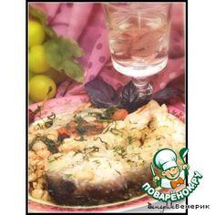 Рыба, тушеная в белом вине с белой фасолью