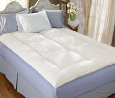 Down Alternative King Mattress Topper-185 by Pillow Factory. $32.69. Down Alternative King Mattress Topper Down Alternative King Mattress TopperThe Down Alternative Mattress Topper is a great alternative to the down and feather toppers. It is filled with silky fiber clusters that not only support you while you sleep, but also offer a soft sleeping environment. Features:Color: WhiteMaterial: 100% Cotton230 Thread CountFill: Silky Fiber ClustersBaffle Box Construct...