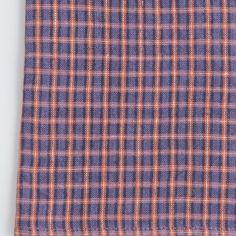 Shop Fog Linen U2014 Kitchen Cloth: Orange Plaid
