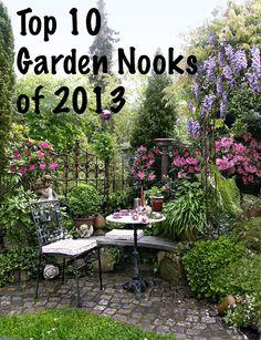 Top 10 Garden Nooks of 2013 #garden #diy #landscape