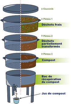 Dossier Quand les vers mangent nos déchets de cuisine : le lombricompostage - AREHN