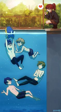 Free! by Nymre on deviantART
