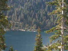 Inspiration Point Vista, Lake Tahoe