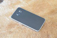 custodia cover Carbonio bumper Ultra Slim per Samsung s6