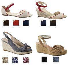 39,95 LANDS´ END Damenschuhe Sandaletten Sandale viele Farben und Größen NEU