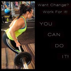 Todays training mantra: You Can Do It!