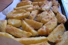 Romanian Food, Hungarian Recipes, Onion Rings, Side Dishes, Good Food, Goodies, Brunch, Potatoes, Vegetarian