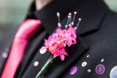 Super Stylish Sunday ~ Fuchsia, Sequins and Beads! OhMy!