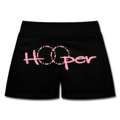 shorts, HOOPING, HULA HOOPING, EXERCISE, FITNESS, FUN, HOOPER, LOVE www.wickedts.spreadshirt.com
