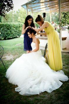 La staff di Kappadisposi progetta e assisteste in ogni prova la sua #sposa www.kappadisposi.it