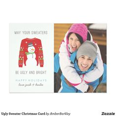 Ugly Sweater Christmas Card