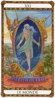 Amber Tarot -- the World