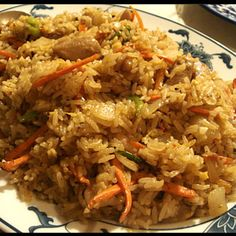 Chicken Fried Rice My hubby may love me for this one.