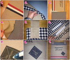 Handige opbergzak om je sjaals, mutsen en handschoenen in op te bergen. Deze opberger is simpel zelf te maken. Hoe? kijk op www.livelovehome.nl