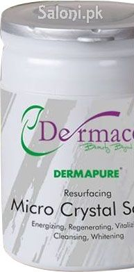Dermacos Dermapure Micro Crystal Scrub is a special skin treatment and best exfoliant for a better and prettier appearance. This scrub instantly recovers skin's appearance by applying a crystal mixture system to eliminate lifeless skin cells in safe and effective formula.
