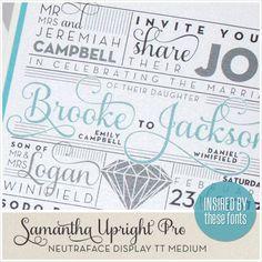 Brooke & Jackson Envelopments Wedding Invitation